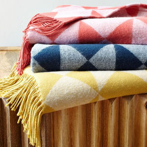 [ W E S T   E L M ] Throw blanket red